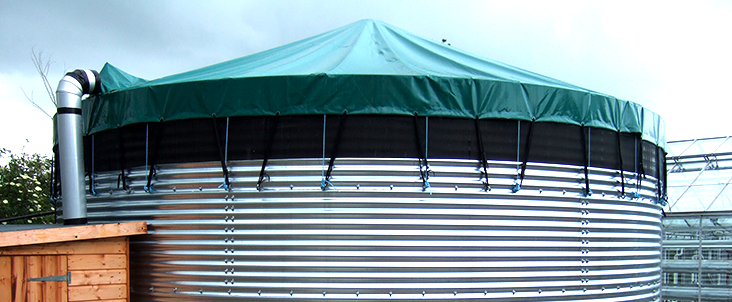 Evenproducts PVC Water Tank-Cover-Header